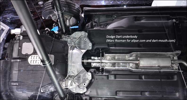 Dart Underbody on Ford Oil Pressure Switch Location