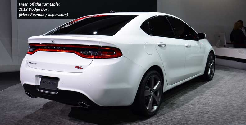 2013 Dodge Dart at the 2012 Detroit Auto Show