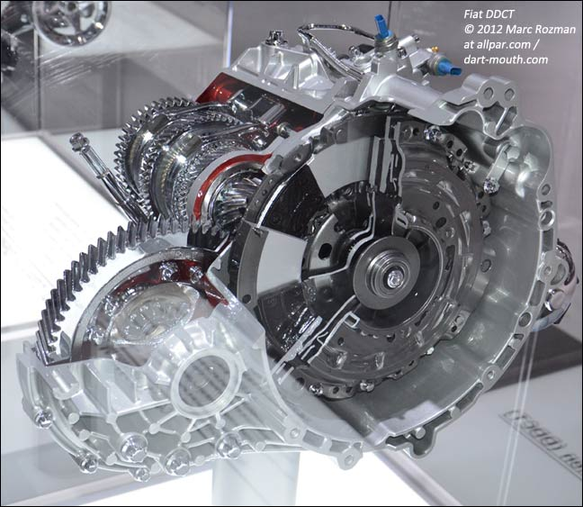 2013 Dodge Charger Transmission: Fiat Dual Clutch Automatic Transmission (DCT) As Used In