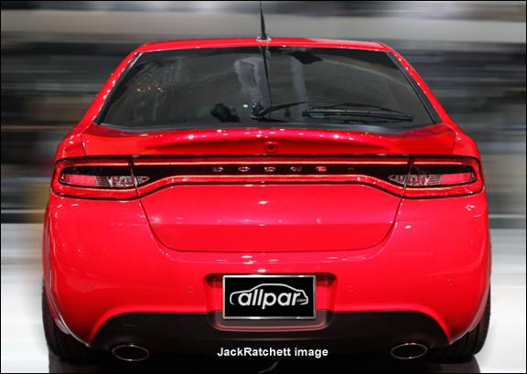 2013-2015 Dodge Dart: the new compact car with the old name