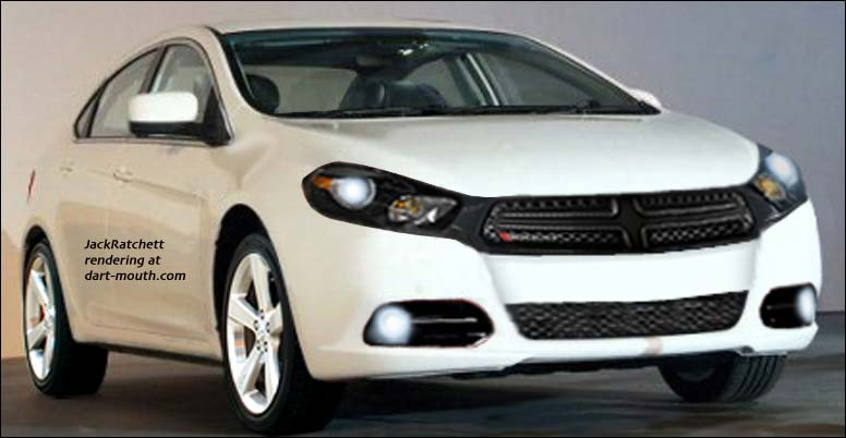 rendering of 2013 Dodge Dart
